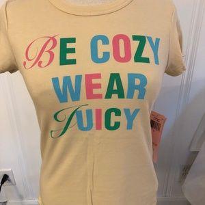 Juicy Couture fun t-shirt!